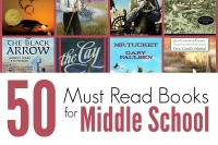 50 Middle School Reads